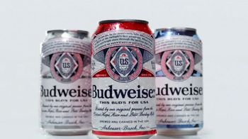 Budweiser TV Spot, '4th of July: Red, White, and Blue Cans'