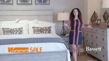 Bassett Summer Sale TV Spot, '40 to 50 Percent Off + Interior Design Services'