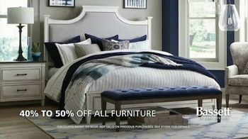 Bassett Summer Sale TV Spot, '40 to 50% Off + Interior Design Services' - Thumbnail 3