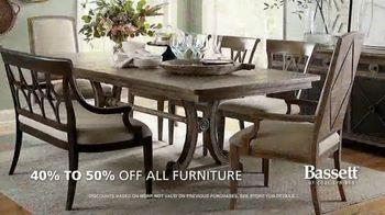 Bassett Summer Sale TV Spot, '40 to 50% Off + Interior Design Services' - Thumbnail 5