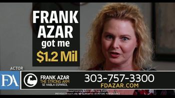 Franklin D. Azar & Associates, P.C. TV Spot, 'Uninsured Driver' - Thumbnail 7