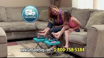 Salon Step TV Spot, 'Pedicures' - Thumbnail 9