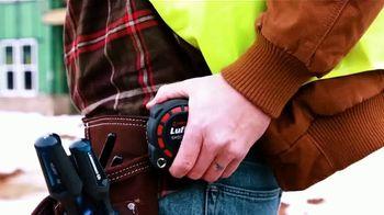 Crescent Lufkin Shockforce Tape Measure TV Spot, 'Any Job Site' - Thumbnail 2