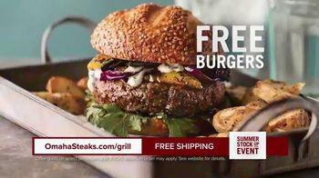 Omaha Steaks Summer Stock Up Event TV Spot, 'Grilling Season: Free Burgers & Shipping' - Thumbnail 8