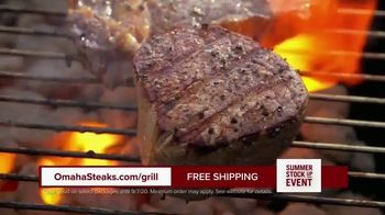 Omaha Steaks Summer Stock Up Event TV Spot, 'Grilling Season: Free Burgers & Shipping' - Thumbnail 2