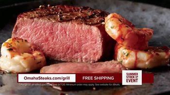 Omaha Steaks Summer Stock Up Event TV Spot, 'Grilling Season: Free Burgers & Shipping' - Thumbnail 5