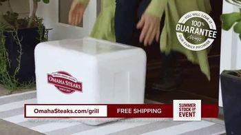 Omaha Steaks Summer Stock Up Event TV Spot, 'Grilling Season: Free Burgers & Shipping' - Thumbnail 6