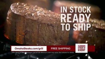 Omaha Steaks Summer Stock Up Event TV Spot, 'Grilling Season: Free Burgers & Shipping' - Thumbnail 7