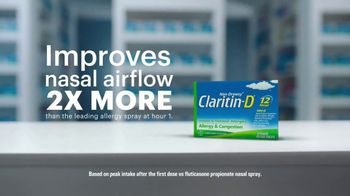 Claritin TV Spot, 'Airflow: Overwhelming' - Thumbnail 4
