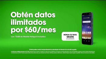 Cricket Wireless TV Spot, 'Ejercicios: Nokia C2 TAVA' con Bárbara de Regil [Spanish] - Thumbnail 9