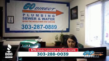 Better Business Bureau TV Spot, 'So Many Choices: Go Direct Plumbing $79 Drain Cleaning'