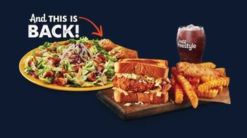 Zaxby's Zensation Zalad and Fillet Sandwich Meal TV Spot, 'Bach and Back' - Thumbnail 2
