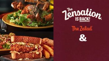 Zaxby's Zensation Zalad and Fillet Sandwich Meal TV Spot, 'Bach and Back' - Thumbnail 3