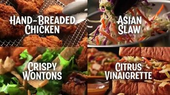 Zaxby's Zensation Zalad and Fillet Sandwich Meal TV Spot, 'Bach and Back' - Thumbnail 5