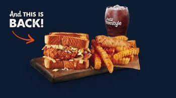 Zaxby's Zensation Fillet Sandwich Meal TV Spot, 'Buck and Back' - Thumbnail 2