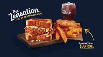 Zaxby's Zensation Fillet Sandwich Meal TV Spot, 'Buck and Back' - Thumbnail 4