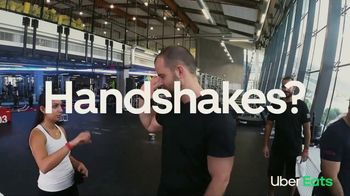 Uber Eats TV Spot, 'Handshakes? Off' Song by Mark Morrison
