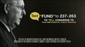 American Federation of State, County & Municipal Employees TV Spot, 'Fund the Front Lines' - Thumbnail 10