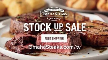 Omaha Steaks Stock Up Sale TV Spot, 'Dinner' - Thumbnail 8