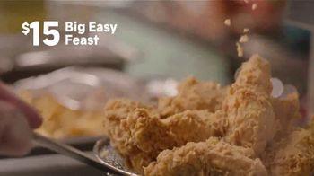 Popeyes Big Easy Feast TV Spot, 'Decision' - Thumbnail 2