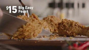 Popeyes Big Easy Feast TV Spot, 'Decision' - Thumbnail 4