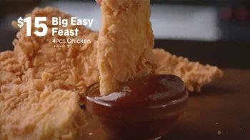 Popeyes Big Easy Feast TV Spot, 'Decision' - Thumbnail 5