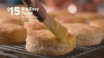 Popeyes Big Easy Feast TV Spot, 'Decision' - Thumbnail 6