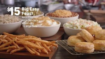 Popeyes Big Easy Feast TV Spot, 'Decision' - Thumbnail 7