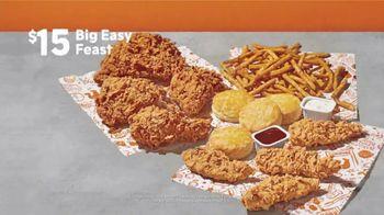 Popeyes Big Easy Feast TV Spot, 'Decision' - Thumbnail 8