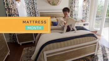 Ashley HomeStore Mattress Month TV Spot, 'Zero Percent Interest'