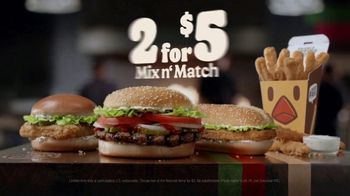 Burger King 2 for $5 Mix n' Match TV Spot, 'Christmas in July: Free Delivery' Featuring Daym Drops - Thumbnail 9