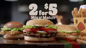 Burger King 2 for $5 Mix n' Match TV Spot, 'FGATF' Featuring Daym Drops - Thumbnail 9