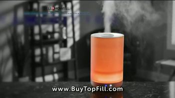 Top Fill Ultrasonic Color Changing Humidifier TV Spot, 'Cool Moist Air'
