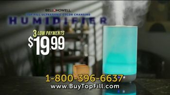 Top Fill Ultrasonic Color Changing Humidifier TV Spot, 'Cool Moist Air' - Thumbnail 8