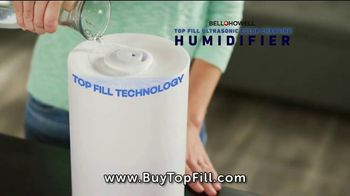Top Fill Ultrasonic Color Changing Humidifier TV Spot, 'Cool Moist Air' - Thumbnail 1