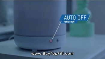 Top Fill Ultrasonic Color Changing Humidifier TV Spot, 'Cool Moist Air' - Thumbnail 6