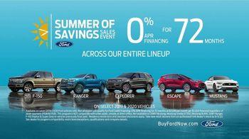 Ford Summer of Savings Sales Event TV Spot, 'Enjoy the Sun' [T2] - Thumbnail 8