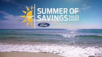 Ford Summer of Savings Sales Event TV Spot, 'Enjoy the Sun' [T2] - Thumbnail 5