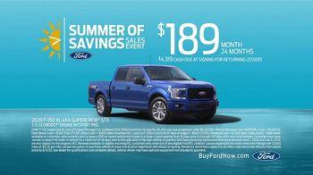 Ford Summer of Savings Sales Event TV Spot, 'Enjoy the Sun' [T2] - Thumbnail 7