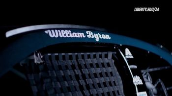 Liberty University TV Spot, 'William Byron: Online Student' - Thumbnail 1