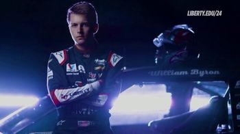 Liberty University TV Spot, 'William Byron: Online Student'