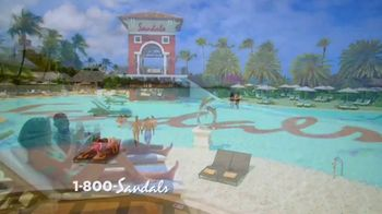 Sandals Resorts Grande Antigua TV Spot, 'Falling in Love: Now Open' - Thumbnail 2