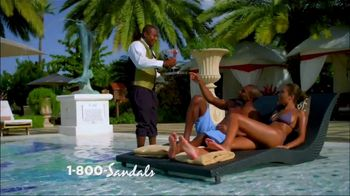 Sandals Resorts Grande Antigua TV Spot, 'Falling in Love: Now Open' - Thumbnail 3
