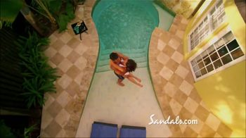 Sandals Resorts Grande Antigua TV Spot, 'Falling in Love: Now Open' - Thumbnail 5