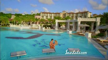 Sandals Resorts Grande Antigua TV Spot, 'Falling in Love: Now Open' - Thumbnail 7