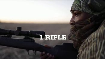 Savage Arms 110 Ultralite TV Spot, 'Just One Rifle' - Thumbnail 4