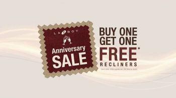 La-Z-Boy Anniversary Sale TV Spot, 'Recliners: Buy One, Get One' - Thumbnail 8