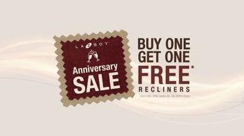 La-Z-Boy Anniversary Sale TV Spot, 'Recliners: Buy One, Get One' - Thumbnail 1