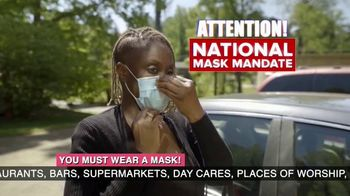 Clean Zone Masks TV Spot, 'National Mask Mandate' - Thumbnail 2