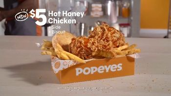 Popeyes Hot Honey Chicken TV Spot, 'Hardestcap' - Thumbnail 7